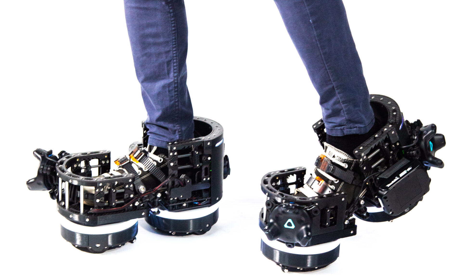 Can VR Robotic Boots Solve Locomotion Problem?